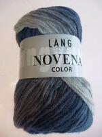Novena Color 50g von Lang Yarns Fb 24 Merino und Alpaka superleicht