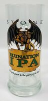 Stone Brewing Ruination IPA .5L Beer Mug with Gold Gargoyle Logo RARE
