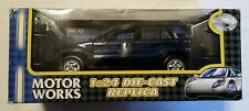 NEW Motor Works BMW X5 SUV Die-cast Metal Collection Car 1:24 Scale NIB NOS L@@K
