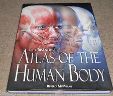 THE ILLUSTRATED ATLAS OF THE HUMAN BODY - Beverley Mcmillan - HC-DJ