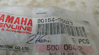 NOS Yamaha OEM Panhead Screws QTY5 ET540 PZ480 Phazer 90154-05023