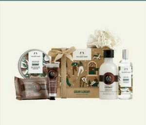 🌟The Body Shop Creamy & Dreamy Coconut Big Gift Set~ For Very Dry Skin🌟