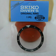 SEIKO BLACK BEZEL INSERT FOR MENS SIZE DIVER SKX 7S26 0020, 6309, 7002, 6306