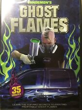 Ghost Flames How-To Airbrush Paint DVD with Steve Vandemon by Airbrush Action