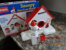 Playskool Snoopy Sno-Cone Machine (Working Machine only)