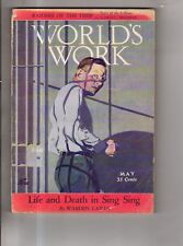 1928 World's Work May-Porto Rico; Sing Sing; T. E. Lawrence;Is Maryland perfect?