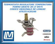 TERMOSTATO REGOLATORE TEMPERATURA FORNO ARIETE 30 LT 0975 AT6251420160 DE LONGHI
