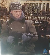 "DID 1/6 12"" WWII GERMAN CAPTAIN THOMAS ACTION FIGURE STALINGRAD 1942 D80094"