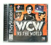 WCW vs. The World PlayStation One 1 PS1 Original Black Label Version Complete VG