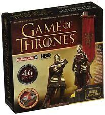 Juego de tronos banner Paquete Lannister Juego de construcción (Marrón/Rojo)...