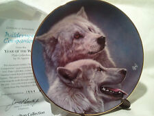 "The Hamilton Collectors Plate ~ ""Wilderness Companions"" - By Al Agnew Lt#"