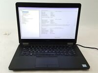 "Dell Latitude E5470 Laptop Computer i5 6th Gen. No HDD 8GB 14"" No OS/AC ***"