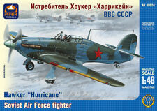 """ARK MODELS 48024 Hawker """"Hurricane"""" British fighter, the Soviet Air Forces 1:48"""