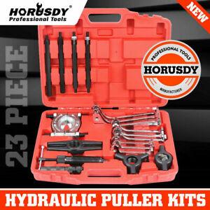 10TON Hydraulic Gear Puller Kit Bearing Jaw Separator Remove Set Multi Function