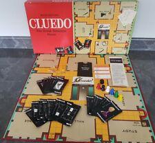 Vintage 1972 WADDINGTON'S CLUEDO Board Game 100% Complete