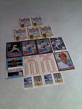 Charles Hudson:  Lot of 85+ cards.....26 DIFFERENT / Baseball