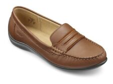 HOTTER 'DARCY' TAN LEATHER MOCASSINS SIZE 7 BNIB
