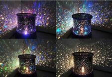 Romantic LED Starry Night Sky Projector Lamp KidsGift Star light Cosmos MasterRO