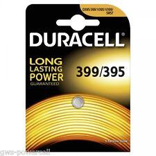 50 x Duracell 399 / 395 SR927W SR927SW Multi Drain Batterie V399 1,55 V 51mAh