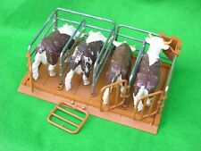 BRITAINS FARM ANIMALS,  CATTLE PENS, MILKING STALLS, FARM SET #2