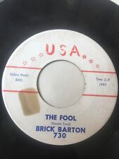 "Rockabilly 45/ Brick Barton ""The Fool""   Hear!"
