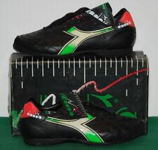 VINTAGE DIADORA BAGGIO shoes International indoor futsal calcetto'86 Deadstock