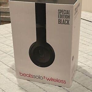 Beats Solo 3 Wireless Headphones (Special Edition Black) High Quality Over-ear