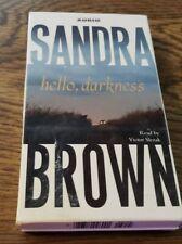 HELLO DARKNESS - SANDRA BROWN - Audio Book - Cassette Tapes - 2003