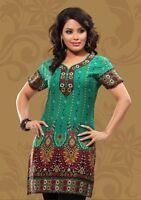 Indian Designer Crepe kurta blouse tops Kurtis-Tunics for Women