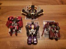 Transformers Combiner Wars legends class Bombshell Windcharger Buzzsaw Warpath