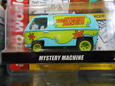AUTO WORLD SCOOBY DOO MYSTERY MACHINE 4 GEAR SLOT CAR BRAND NEW SHIPS SAME DAY!