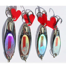 Esca Artificiale Metallo Spinning Fiume Laghi Minnow Fishing Lures Per Pescatore