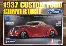 1937 Custom Ford Convertible 1:24 Scale  Model Kit 73063 NIB