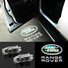 2x LED Logo Door Courtesy Laser Shadow Puddle Lights For Range Rover Land Rover