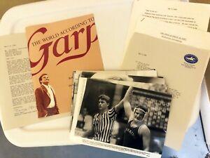 "Original 1982 ""World According to Garp"" Press Kit with 18 photos"