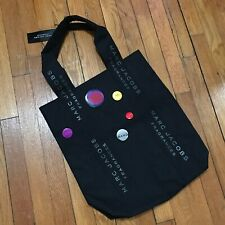NEW Marc Jacobs Black Fragrance Button Tote Bag