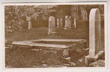 Stirlingshire postcard - Rob Roy's Grave, Balquhidder - RP (A817)