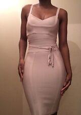 House Of CB 'Belice' Style Tie Waist Bandage Dress UK M Celeb Boutique