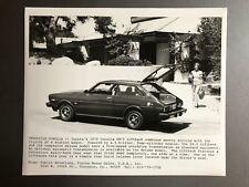 1978 Toyota Corolla SR-5 Liftback Coupe Vintage Press Photo ORIGINAL RARE!! L@@K