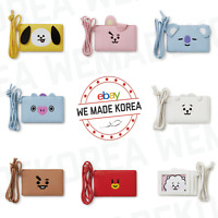 BT21 Character Two Pocket Necklace Card Wallet Official K-POP Authentic Goods