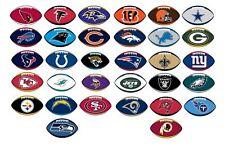 NFL Football Sticker / Aufkleber - American Football - 10,5 x 6,5 cm  Alle Teams