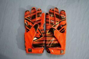 Oregon State Beavers unused team issued Nike Vapor Jet receivers gloves size 3XL