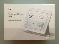 (NEW SEALED) Google Home Hub With Google Assistant, Chalk (GA00516-US)