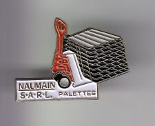 RARE PINS PIN'S .. AGRICULTURE TRACTEUR TRACTOR BTP LEVAGE PALETTES NAUMIN ~DD