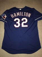 Josh Hamilton Texas Rangers Authentic On-Field Majestic Jersey 52 2XL (6300)
