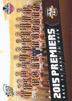 ✺New✺ 2015 HAWTHORN HAWKS AFL Premiers Card