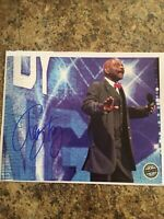 Teddy Long Signed 8 x 10 - WWE NXT NWA WCW Pro Wrestling Crate