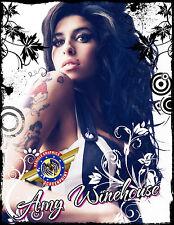 """Amy Winehouse """"Rock, Pop Music"""" Personalized T-shirts"""