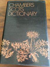 Chambers Scots Dictionary Hardcover 1982 Scottish Scotland