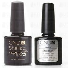 CND Shellac Xpress 5 Top & Base coat 2 x 7,3ml
